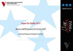 Super tre stelle 2017